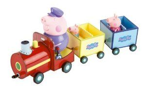 Amazon.com: Peppa Pig Grandpa Pigs Train: Toys & Games