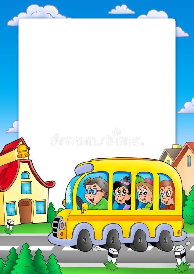 School Bus PNG Clip Art Image   Bus cartoon, School bus, School bus clipart