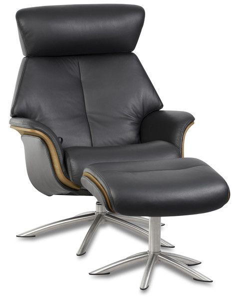 Space 57.57 Recliner and Footstool