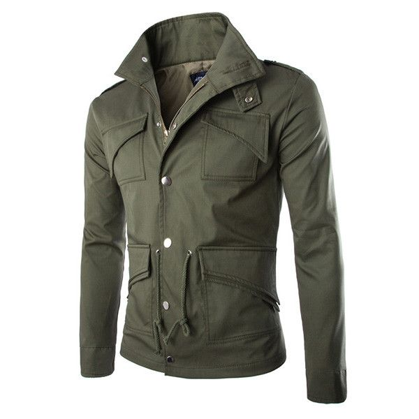 Men's Fashion Elegant Coat Sexy Slim Fit Casual Jacket