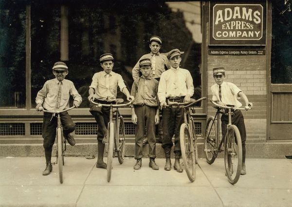 The Young Bike Messengers of the South (23 Photos) - Old Photo Archive