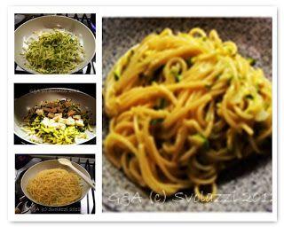 Svolazzi: Pasta zucchine e morlacco