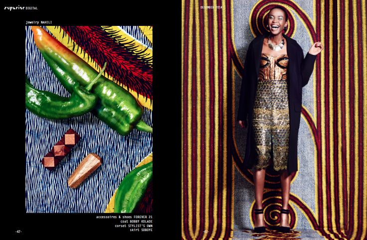 African Prints in Fashion: Happy Kwanzaa: Africa-inspired Photo Shoot