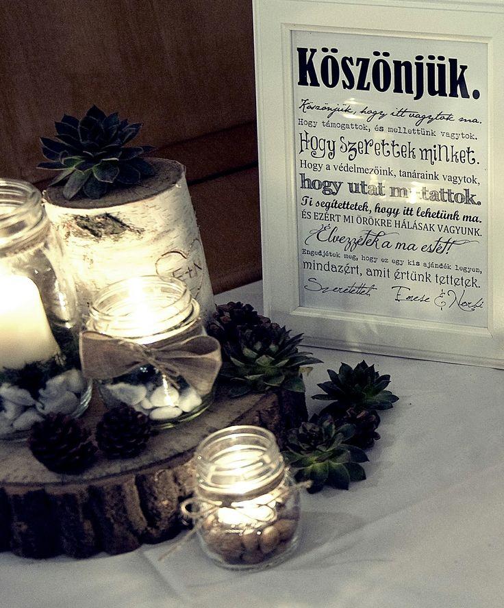 #gift #rustic #country #fall #greenwedding #Pajta #wedding