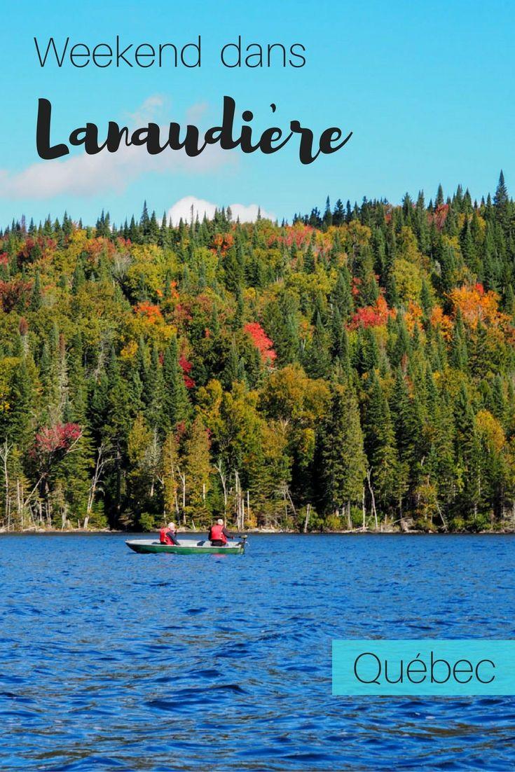 Quoi faire dans la région de Lanaudière en automne.