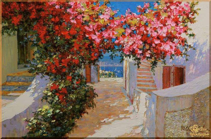Mediterranean - 127 Средиземноморье, картины, подарки