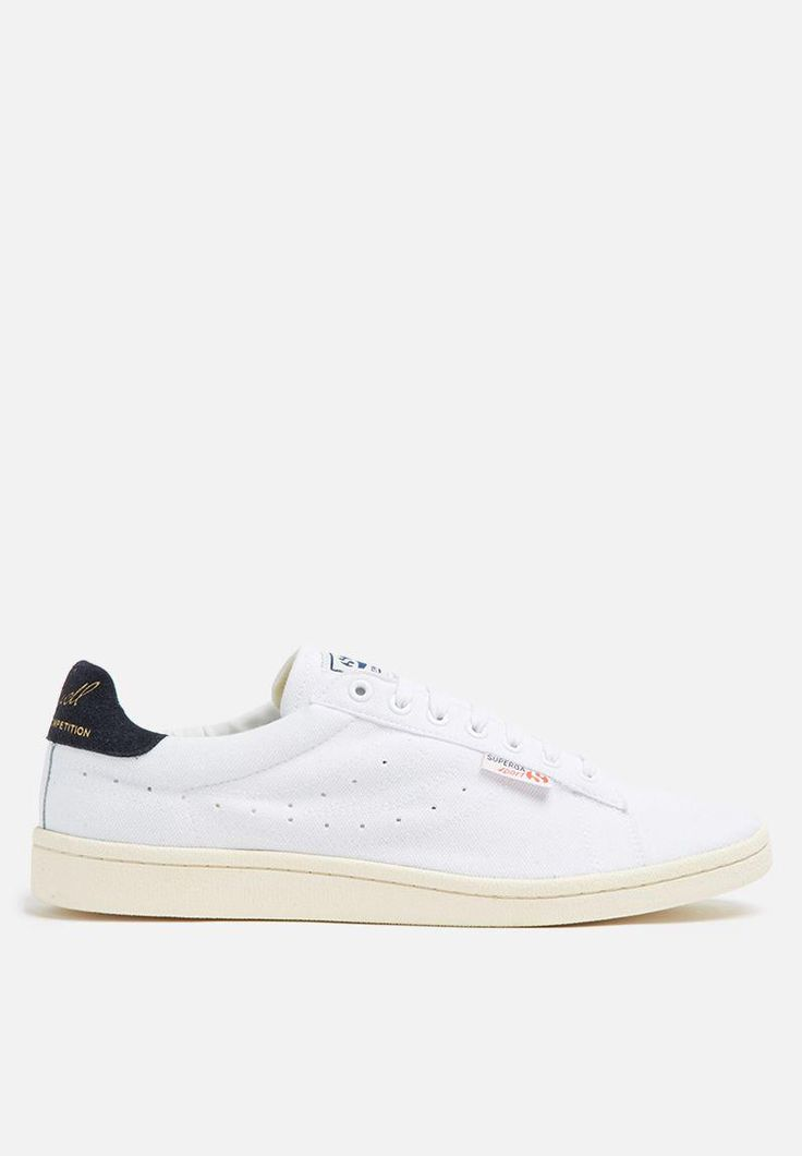 Superga Sport Ivan Lendl Piquet Polo Cotton - White / Navy SUPERGA Sneakers | Superbalist.com
