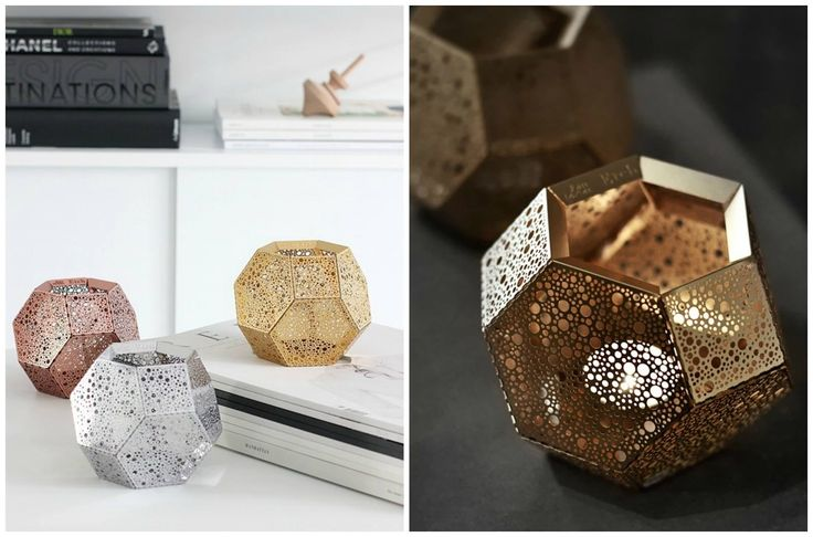 One month left for Christmas!!  Etch Tea Light Holder, designed by Tom Dixon.  Get The Originals at www.2ndfloor.gr