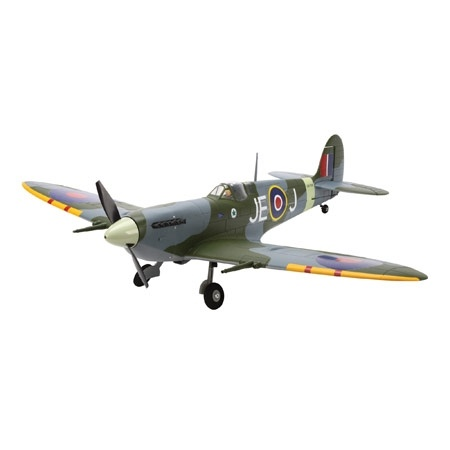 Spitfire Mk IX PNP - The Supermarine Spitfire is an icon of British grit and determination. Its fluid lines seem to blend art with aerodynamics. ParkZone has brilliantly captured the power and grace of the Spitfire with this remarkably scale, brushless Mk IX replica.