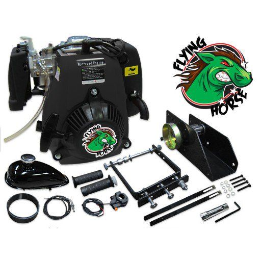 Flying Horse 49cc 5G Lock-N-Load Friction Drive Bicycle Engine Kit- 4-Stroke - Bicycle Engine Kits