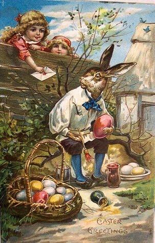 Vintage Easter postcard.
