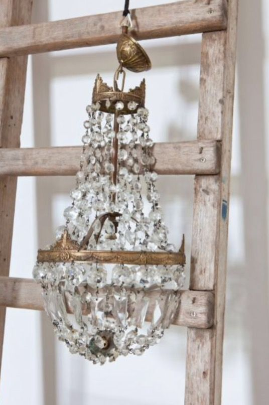 """This beautiful chandelier is from our feature """"Charming Impact"""""""