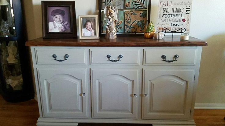 Painted in Plaster Paint's Cashmere. So easy to paint. I LOVE Plaster Paint!
