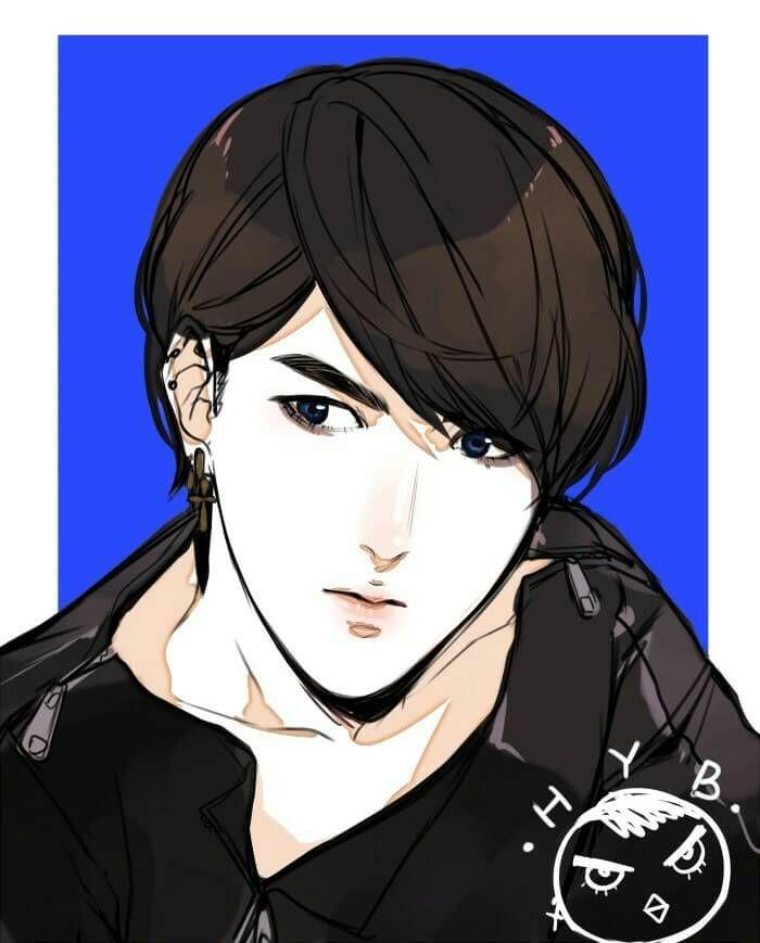 Hyunbin, i wonder if he's Yanjie's  brother | 304th Study Room | webtoon by Felicia Huang