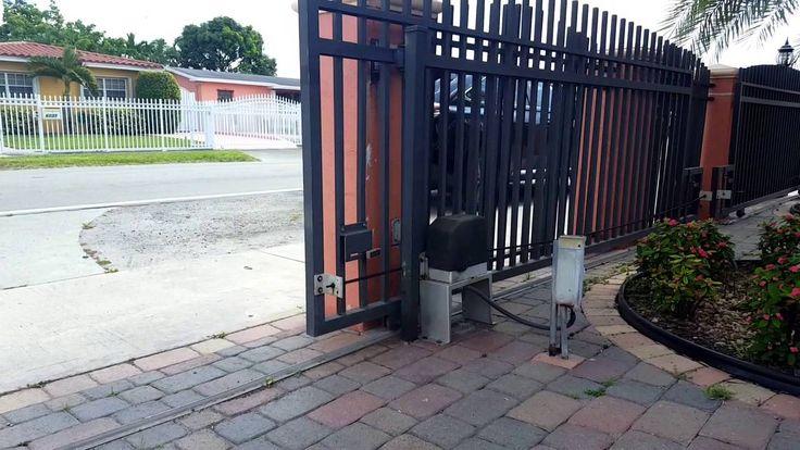Sliding Gate Garage Door Opener Residential Gooseneck Stand For Gate  Operator