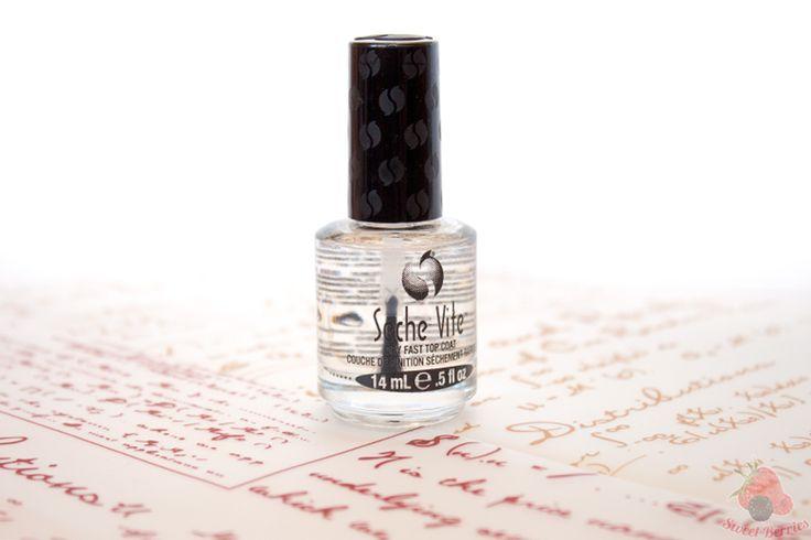 Быстросохнущее покрытие для ногтей Seche Vite Dry Fast Top Nail Coat