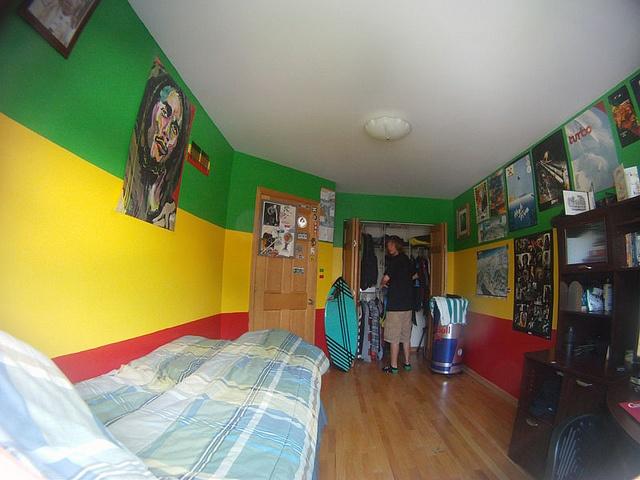 Bob Marley One Love Duvet Cover Rasta Reggae Bedroom Decor