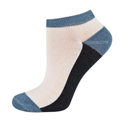 SOXO Three-colored footies | MEN \ Socks | SOXO socks, slippers, ballerina, tights online shop