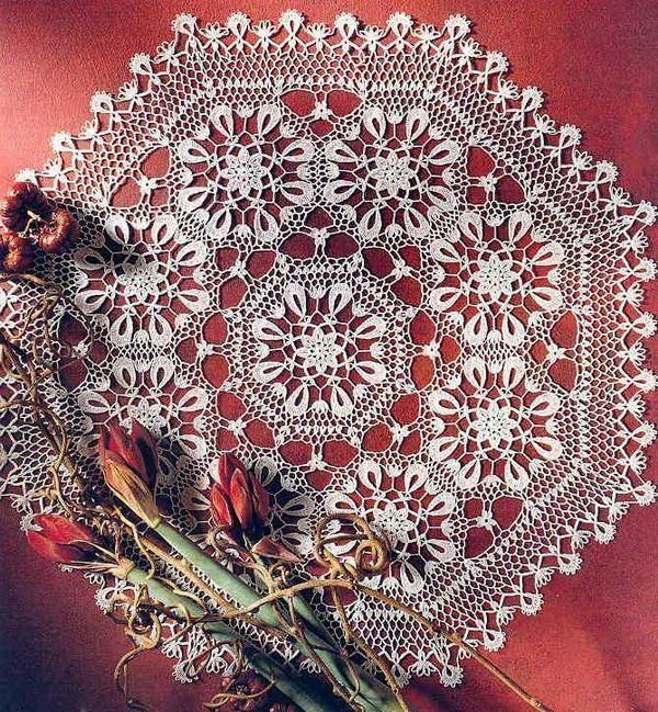Crochet Art: Crochet Doily Pattern - Beautiful -- Need pattern