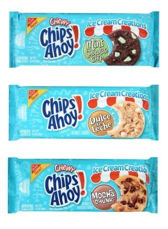 Chips Ahoy! Ice Cream Creations