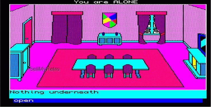 Sinclair QL Graphic Adventure: Mortville Manor