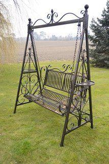 Olive Grove Versailles Garden Swing Seat Hammock In Antique Bronze Finish