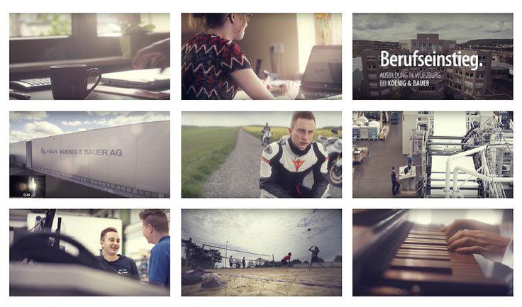 Kürzlich berichtete EXPOSE über die Filmproduktion von Christian Boenisch + Jan Weiner für den Druckmaschinenhersteller Koenig & Bauer AG. In der neuen EXPOSE Ausgabe 03.16 präsentieren wir Details zu dieser Produktion, einen Zusammenschnitt von Impressionen aus dem Azubi-Recruiting-Film für KBA. Dieser Film ist nicht klassisch konzipiert, sondern berührt einen ganz anderen Punkt... Auch bei KBA stellte das Filmteam Boenisch + Weiner seine besondere … Mehr unter http://expose-photo.de/kba