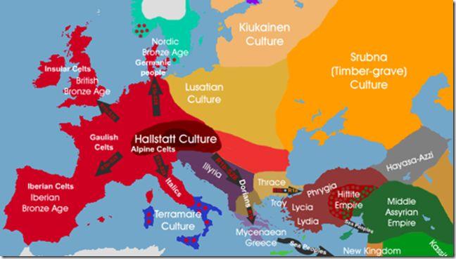 I2a Vinca Cucuteni 9000bc I1 Scandinavia 3000bc J2 Greeks Dna Europe