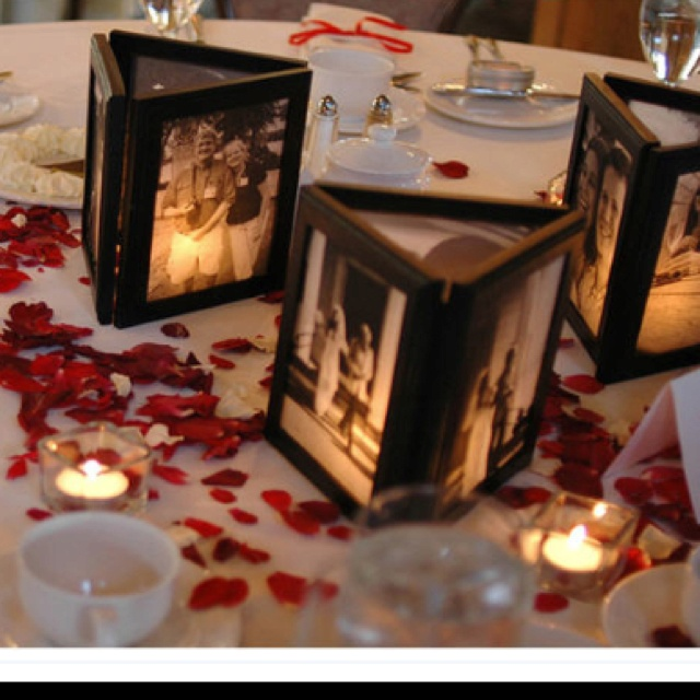 Picture Frame Center Pieces