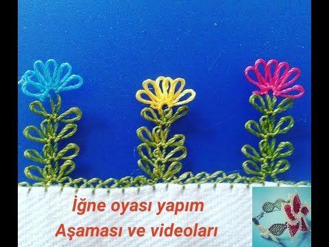 &&& iğne oyası çiçek modelleri &&& İĞNE OYASI KIR ÇİÇEĞİ YAPIMI (DIY) - YouTube