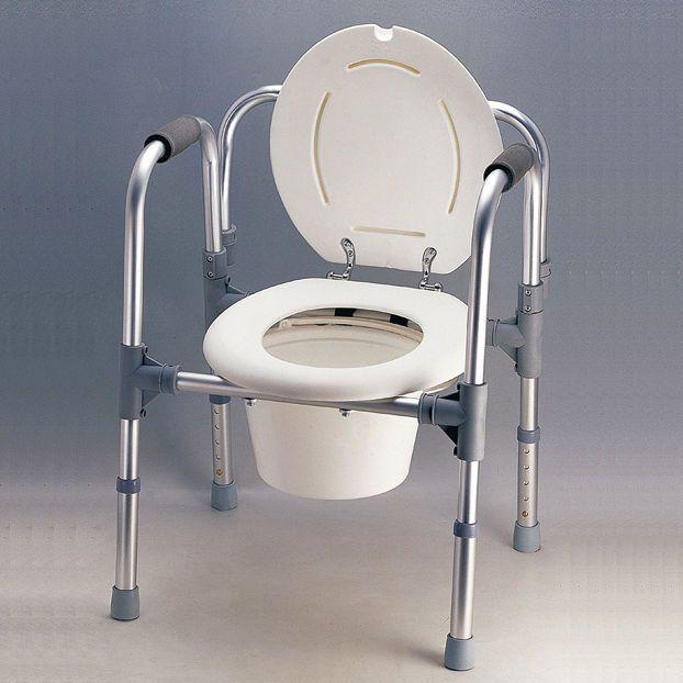 Silla WC - 3 en 1 | Para personas con problemas de movilidad e incontinencia