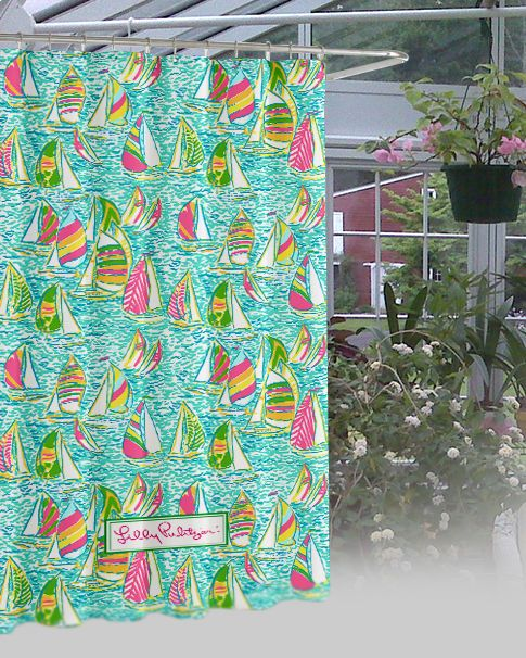 """Lilly pulitzer Surving Waterproof Bathroom High Quality Shower Curtain 60"""" x 72"""" #Unbranded #Modern #New #Hot #Best #Custom #Design #Home #Decor #Bestseller #Movie #Sport #Music #Band #Disney #Katespade #Lilypulitzer #Coach #Adidas # Beauty #Harry #Bestselling #Kid #Art #Color #Brand #Branded #Trending #2017"""