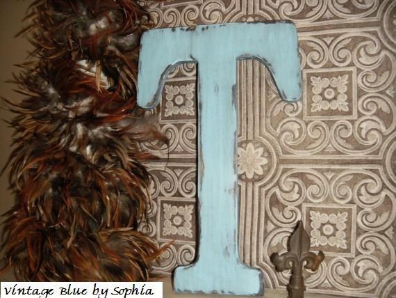 "letter T 18"""