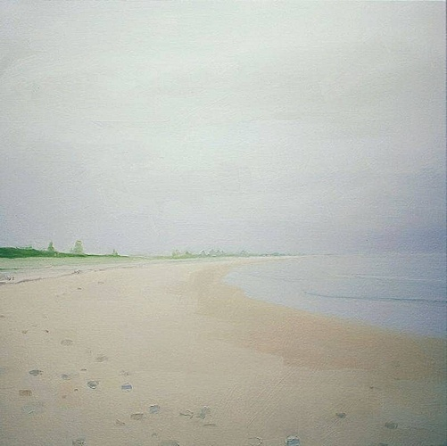 Sara MacCulloch, Seaside Beach  2009, Oil on canvas