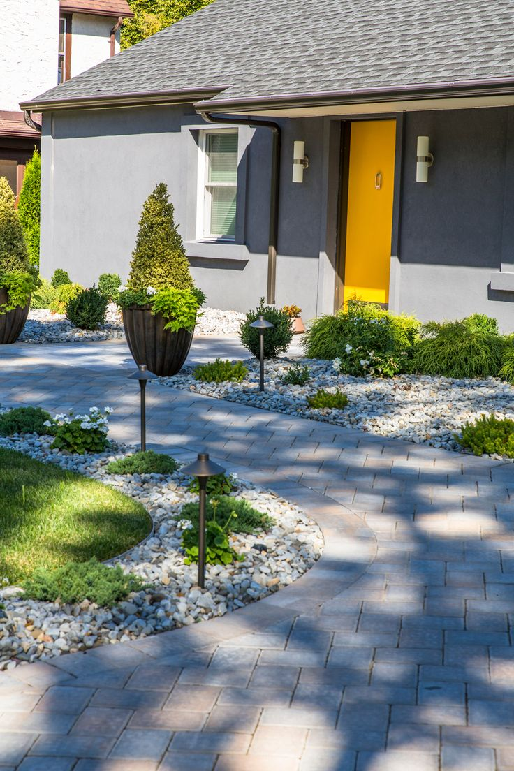Cambridge pavingstones wall systems color options - Create An Entryway That Will Amaze Your Guests This Entryway Was Created Using Pavingstones By