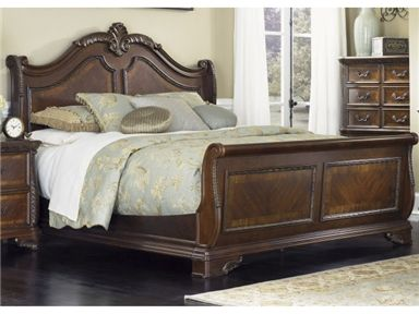 Shop for Liberty Furniture Queen Sleigh Headboard, 620-BR21H, and other Bedroom Beds at The Furniture House of Carrollton in Carrollton, GA. Nestle in the familiar surroundings of this bed as it simultaneously provides you with incomparable style and comfort.  With a harmonious blend of looks and utility, this bed allows you to rest peacefully in the best of both worlds.