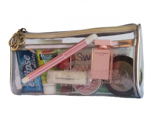 The Borne Naked MINI bag organiser/liner is also ideal for keeping handbag essentials in.