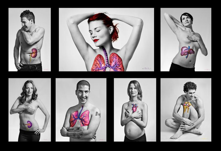 A stunning photo campaign for Organ Donation by Transplant BC and Eva Markvoort and Cyrus McEachern. Painted on organs represent transplants these people received. Live life, pass it on.
