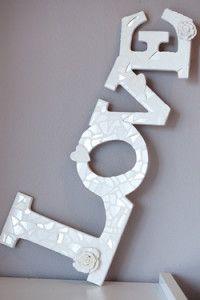 Creative Company | Mosaiek dekoratiewe idees: Dekoratiewe woorde
