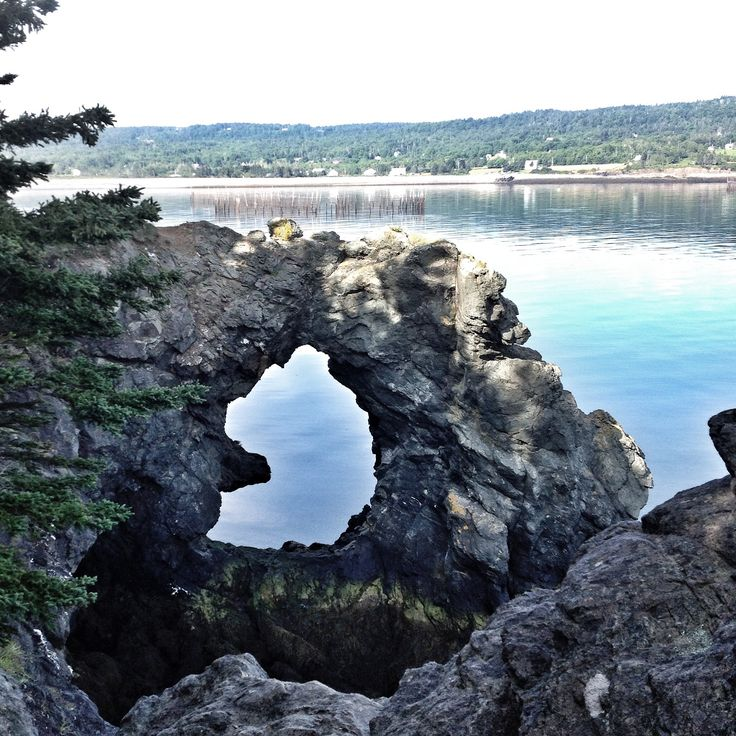 Hole in the Wall.  Grand Manan Island