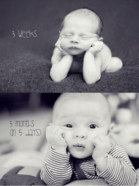 La mejor idea para tener el mejor recuerdo de tu bebé en su primer año de vida.