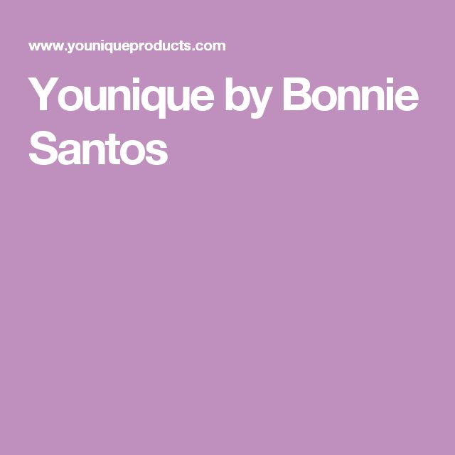 Younique by Bonnie Santos