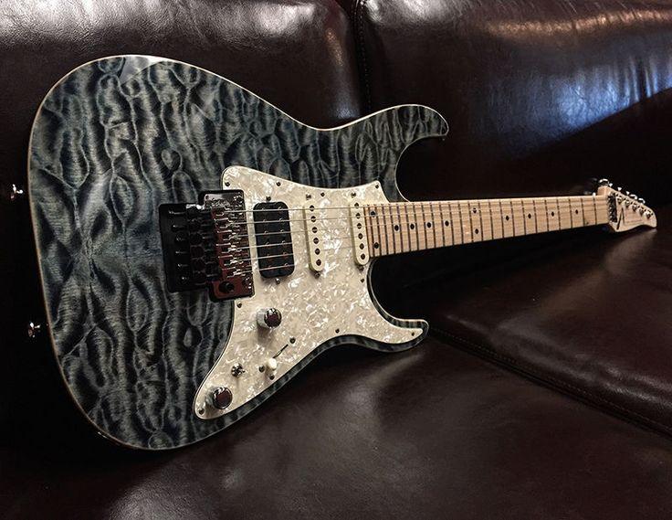 Tom Anderson Guitarworks Guardian Angel ATLANTIC STORM Electric Guitar | eBay
