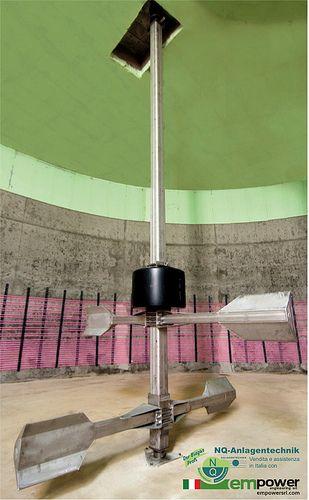 La tecnologia dell'agitatore NQ-150 per il tuo impianto biogas. http://empowersrl.com/2014/lagitatore-nq-150/