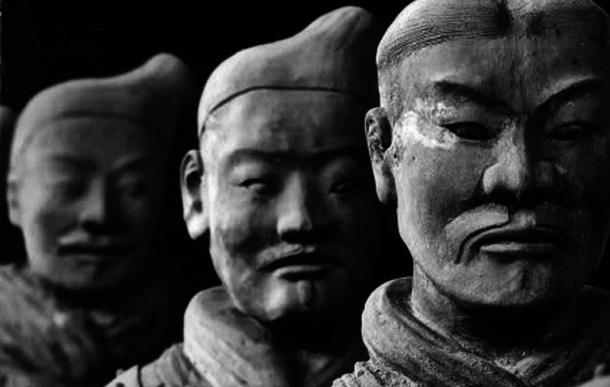 Exército de terracota, Guerreiros de Xian