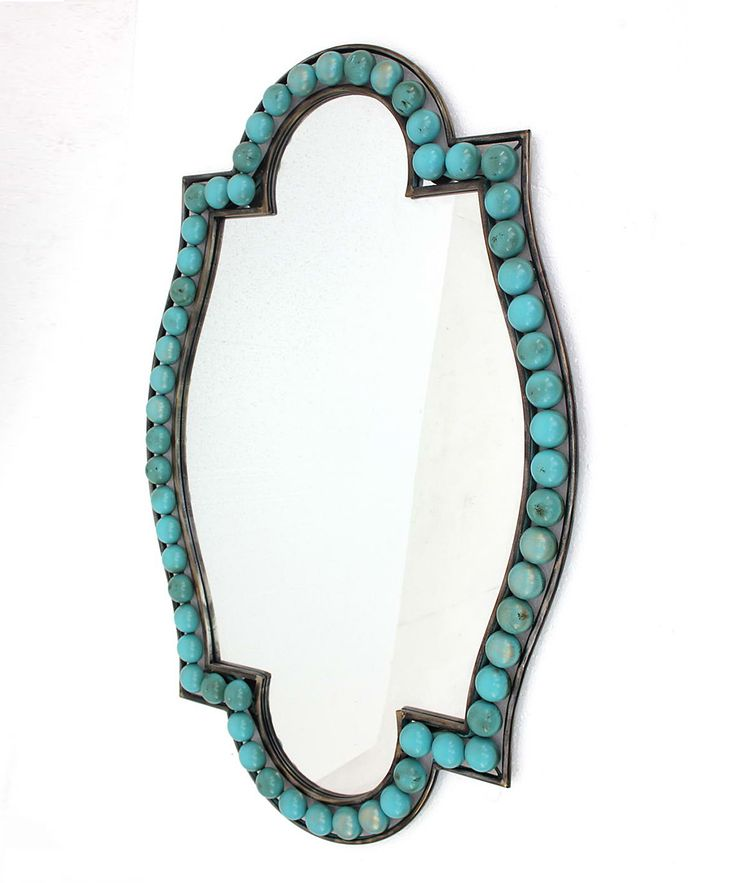 Turquoise Wall Mirror