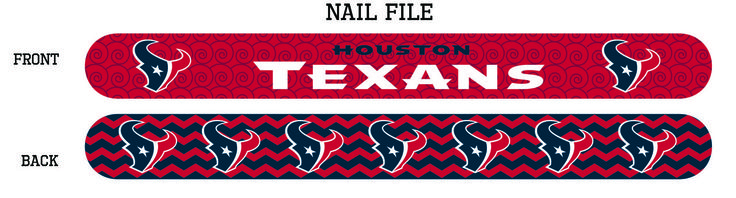 Houston Texans Nail File - Sunset Key Chains