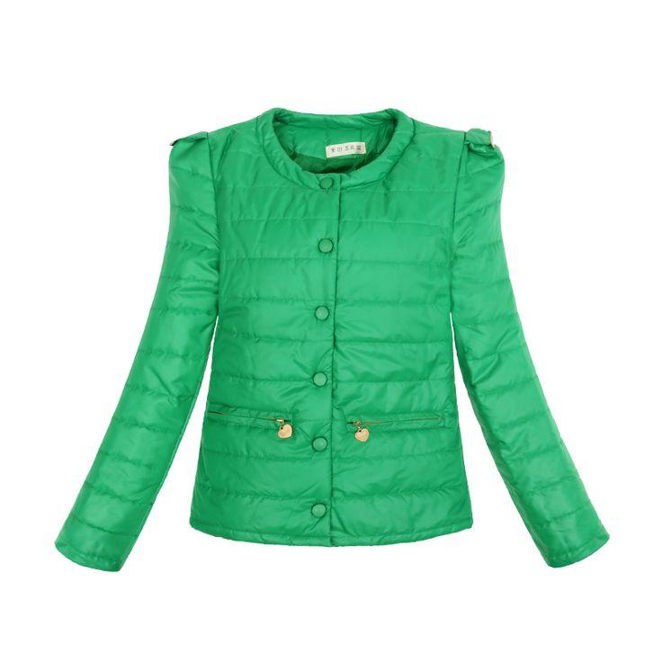 $13.98 (Buy here: https://alitems.com/g/1e8d114494ebda23ff8b16525dc3e8/?i=5&ulp=https%3A%2F%2Fwww.aliexpress.com%2Fitem%2F4-colors-Fashion-Ladies-down-parkas-2015-Winter-Overcoat-women-s-winter-jackets-Slim-O-neck%2F32384426537.html ) 4 Colors Warm Winter Jacket Women 2016 New Fashion Slim Thin O-neck Ladies Parkas Coat Overcoat Plus Size XXL for just $13.98