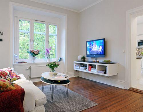5 trucos para decorar espacios pequeños   Decoración