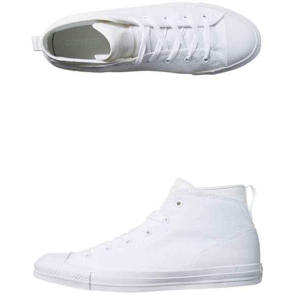 Converse Mens Chuck Taylor Syde Street Shoe White ($74) ❤ liked on Polyvore featuring men's fashion, men's shoes, men's sneakers, footwear, men, sneakers, white, converse mens shoes, mens white shoes and converse mens sneakers